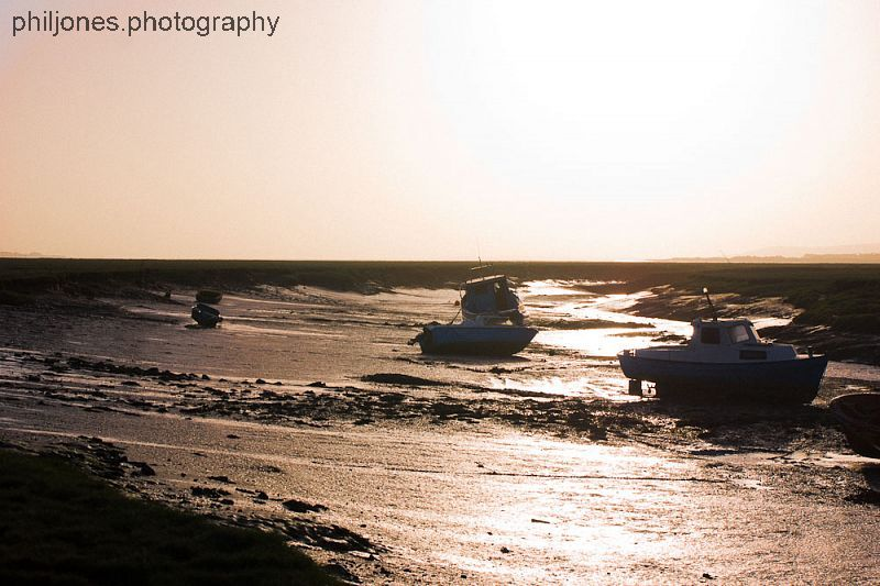 Boats at Penclawdd - 2