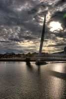 SA1 Sail Bridge Swansea - 2